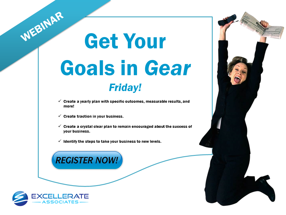 GET YOUR GOALS IN GEAR