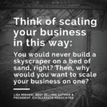 Build the Basics Before Scaling Your Business