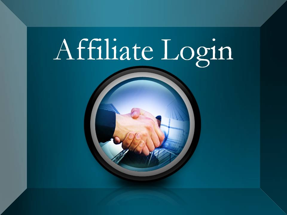 Affiliate Login Button