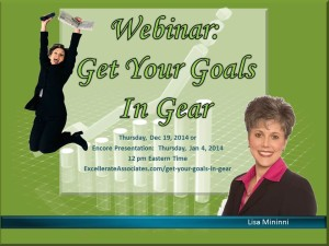 Get Your Goals in Gear - webinar